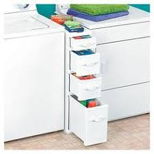 Laundry Room Storage Between Washer And Dryer Drawers That Fit Between The Washer And Dryer This Is A Brilliant