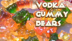 vodka soaked gummy bears recipe thefndc com youtube
