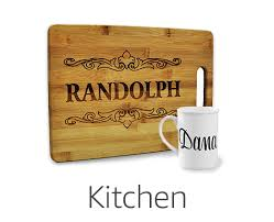 Personalized Kitchen Items Amazon Custom Personalized Gifts Décor U0026 Products