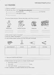 compound machines worksheet worksheets releaseboard free