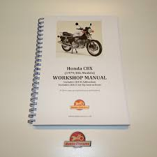 honda cbx 1000 factory workshop shop manual book reproduction