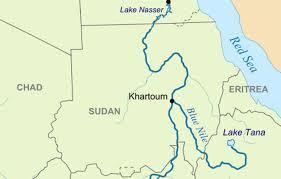 africa map khartoum sudan on high alert floods africa review