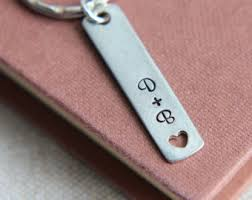 personalized keychain gifts boyfriend keychain etsy