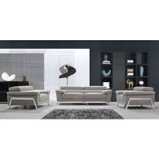Modern Gray Leather Sofa Divani Casa Modern Unique Sofa Designs