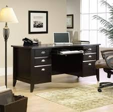 Sauder Office Desks Sauder Outlet Shoal Creek 65 Executive Desk 30 1 2 H X 65 W X