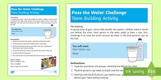 How Does Water Challenge Work Ks1 Pass The Water Challenge Activity Challenge Solve Team
