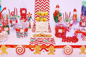 christmas candy buffet ideas candyland gingerbread christmas christmas party