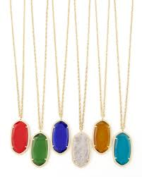 birthstone pendants for lyst kendra danielle birthstone necklace in