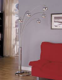 300 anthony of california m1304f 123 metal arc floor lamp with 5