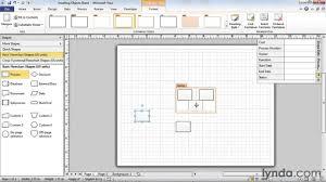 Visio Floor Plan by Lynda Com Tutorial Visio 2010 Essential Training U2014inserting New