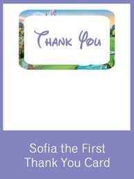 sofia the first party set creative printables