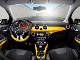 opel karl interior opel adam yellow opel pinterest