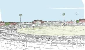 plans to make the oval the largest cricket ground rolfe judd