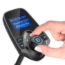 nulaxy km19 wireless bluetooth fm transmitter in car radio adapter