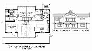 country home floor plans country house plans category cabin floor plan small cottage with