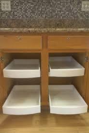 oak wood portabella glass panel door sliding shelves for kitchen