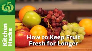fruit fresh how to keep fruit fresh for longer food waste