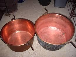 chaudron pour cuisiner objets d autrefois