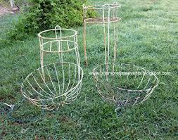 hanging planter basket gardening wire planters and hanging baskets transformation hometalk