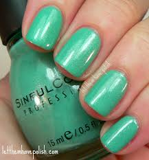 let them have polish sinful colors mint apple revisited