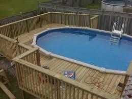 above ground pool privacy fence ideas home u0026 gardens geek