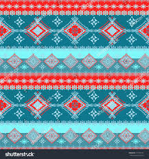 Tribal Print Wallpaper by Ethnic Tribal Art Seamless Pattern Geometric Stock Vector