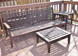 Refinish Iron Patio Furniture by Bonnieprojects Refinishing Wood Patio Furniture