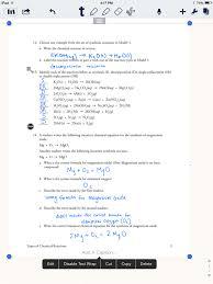 balancing chemical equations worksheet 3 worksheets