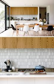 Backsplash Tile In Kitchen by 9 Inspirational Kitchens With Geometric Tiles Contemporist