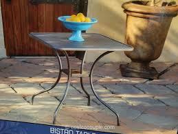 Kirklands Bistro Table Sunvilla Mesh Bistro Table