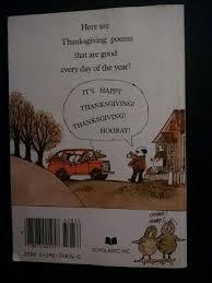 it s thanksgiving prelutsky marylin hafner 9780590328364