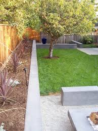Modern Backyard Fence by Like The Idea Of A New Privacy Fence And Concrete Planter Areas