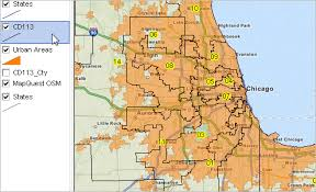 chicago voting map custom congressional district maps
