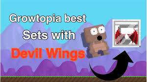 growtopia best top 5 sets with wings