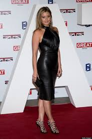 Holly Valance Measurements Holly Valance Meets Royalty In Curve Skimming Leather