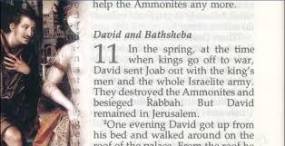david and bathsheba bible story verses u0026 meaning
