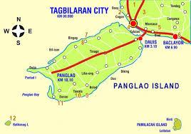 alona resort map bohol map of panglao and tagbilaran