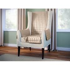 wing chair slipcover wing chair slipcovers you ll wayfair ca