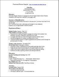Functional Resume Template Free Download Functional Resume Samples Writing Guide Rg