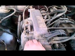 91 toyota pickup 22re youtube