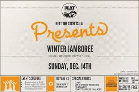 winter jamboree december 14 beat the streets la beat the streets