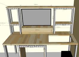 Schreibtisch 3 Meter Projekt Schreibtisch Mit Integrierten Wassergekühlten Pc Selbst