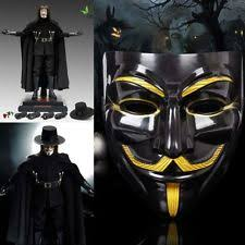 v for vendetta costume v for vendetta mask anonymous fawkes fancy dress fancy costume