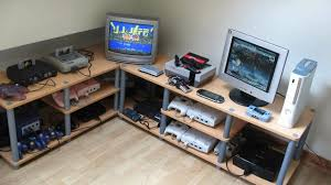 desks for gaming consoles a linux game console