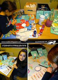 krokotak fingerprint christmas cards for kids to make