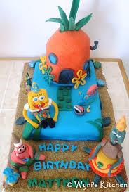 spongebob birthday cake spongebob birthday cake make eat