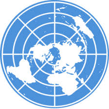 un map flat earth map un flag logo what are the odds aplanetruth info