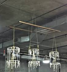 Diy Rustic Chandelier Make This Deconstructed Shabby Chic Chandelier Diva Of Diy