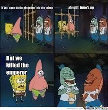 No One Cares Spongebob Meme - the laws of skyrim by killersanders meme center