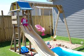 new play structure for the kiddos the dagenais daily